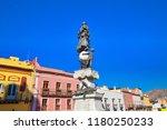 guanajuato  mexico  scenic old... | Shutterstock . vector #1180250233