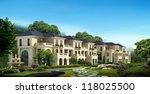 buildings made in 3d | Shutterstock . vector #118025500