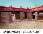building from ancient culture... | Shutterstock . vector #1180274686