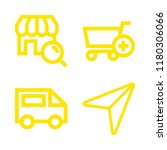 4 www icons with searching a...   Shutterstock .eps vector #1180306066