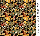 vector seamless pattern with... | Shutterstock .eps vector #1180311550