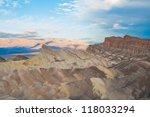 zabriskie point view of death... | Shutterstock . vector #118033294