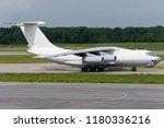 big cargo freight plane is... | Shutterstock . vector #1180336216