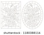 a set of contour illustrations...   Shutterstock .eps vector #1180388116