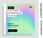 trendy design template with... | Shutterstock .eps vector #1180389499