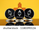 physical version of ethereum ... | Shutterstock . vector #1180390126