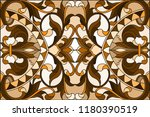 illustration in stained glass...   Shutterstock .eps vector #1180390519
