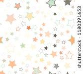 seamless vector repetitive... | Shutterstock .eps vector #1180391653