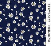 white chamomile flowers... | Shutterstock .eps vector #1180412656