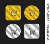 shopping cart of horizontal...
