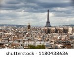 elevated view of the buildings... | Shutterstock . vector #1180438636