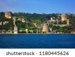 istanbul  turkey. the rumeli... | Shutterstock . vector #1180445626