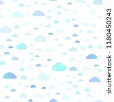 light blue vector seamless... | Shutterstock .eps vector #1180450243