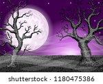 vector illustration of a dark... | Shutterstock .eps vector #1180475386