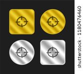 target hand drawn circle gold...