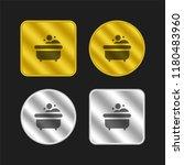 bathtub gold and silver...