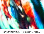 bright colored led smd screen   ... | Shutterstock . vector #1180487869