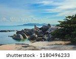 bizarre landmark of koh samui ... | Shutterstock . vector #1180496233