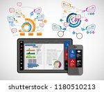 infographic concept  vector | Shutterstock .eps vector #1180510213
