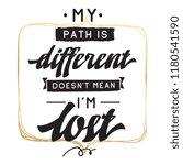 inspirational quote  motivation.... | Shutterstock .eps vector #1180541590