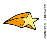 cartoon doodle shooting star | Shutterstock . vector #1180560529