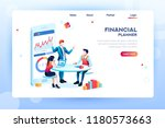 business adviser team.... | Shutterstock .eps vector #1180573663