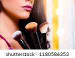 makeup up   beautification... | Shutterstock . vector #1180586353