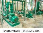 pump and steel pipelines for...   Shutterstock . vector #1180619536