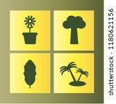 botany icon. botany vector... | Shutterstock .eps vector #1180621156