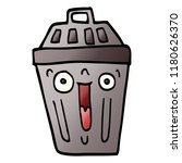 cartoon doodle waste bin | Shutterstock . vector #1180626370