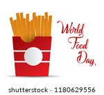 world food day food day... | Shutterstock .eps vector #1180629556