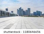 panoramic skyline and modern... | Shutterstock . vector #1180646656