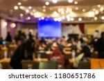 blurred people meeting in... | Shutterstock . vector #1180651786
