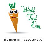 world food day food day... | Shutterstock .eps vector #1180654870