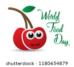 world food day food day... | Shutterstock .eps vector #1180654879