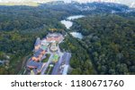 an ancient orthodox monastery...   Shutterstock . vector #1180671760