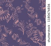 seamless pattern with vintage...   Shutterstock .eps vector #1180676836