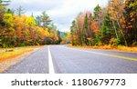 autumn foliage in vermont  new... | Shutterstock . vector #1180679773