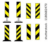 road barriers  under... | Shutterstock .eps vector #1180682470