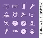 key icon. key vector icons set... | Shutterstock .eps vector #1180684936