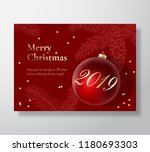 merry christmas abstract vector ... | Shutterstock .eps vector #1180693303