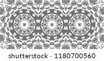 black and white mosaic... | Shutterstock . vector #1180700560