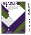 geometric infographics in...