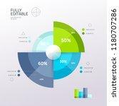 business infographic design...   Shutterstock .eps vector #1180707286