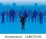business | Shutterstock .eps vector #118072150