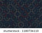 beautiful geometric pattern... | Shutterstock .eps vector #1180736110