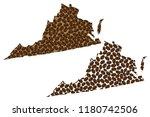 virginia  united states of...   Shutterstock .eps vector #1180742506