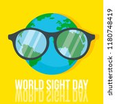 world retina day concept... | Shutterstock .eps vector #1180748419