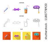 vector illustration of party... | Shutterstock .eps vector #1180778920
