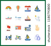 freedom icon. relax and hot air ...   Shutterstock .eps vector #1180793800